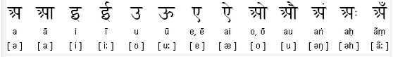 Nepali_vowels